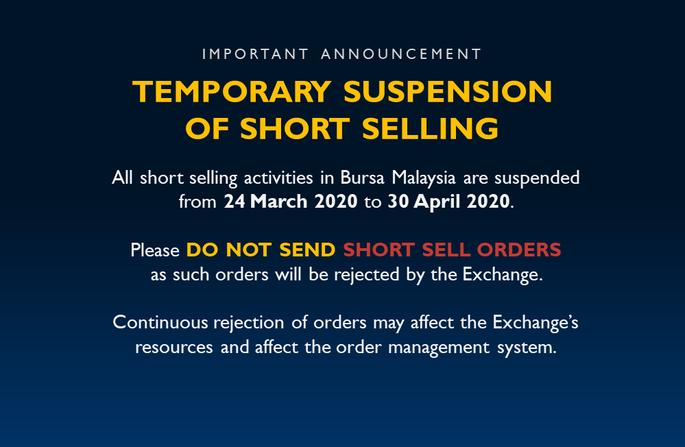 Temporary Suspension