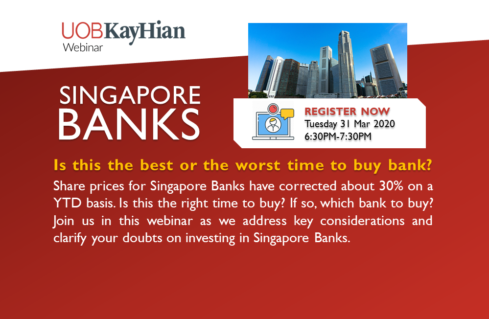 [Webinar] Opportunities in Singapore Banks