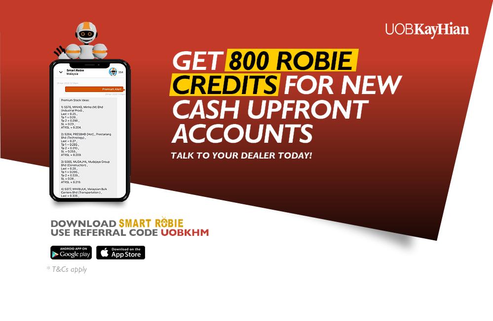 Get 800 Robie Credits